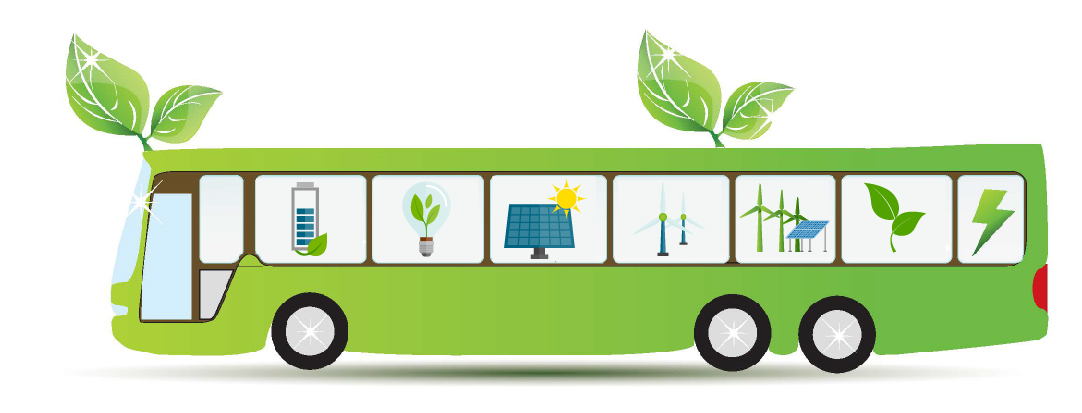 eBus | Electric Bus| Green energy Bus| Axis Energy